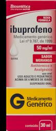 Ibuprofeno 100mg Gotas 20ml Genérico Medley