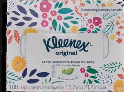 Lenço De Papel Kleenex Box Com 100 U