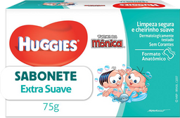 Sabonete Infantil Huggies Turma da Mônica Extra Suave 75g