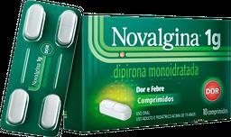 Novalgina 1g 10 Comprimidos