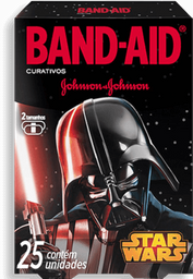 Curativo Band Aid Star Wars Johnson & Johnson Com 25 U