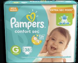 Fralda Pampers Confort Sec Tamanho G Com 38 Und