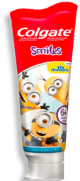 Gel Dental Colgate Dental Kids Smiles Minions Bubble Fruit 100g