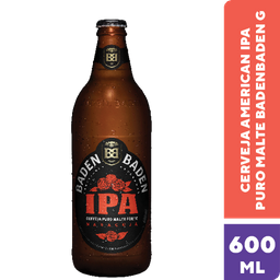 Cerveja Baden American Ipa Gfa 600 mL