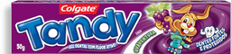 Creme Dental Tandy Uva Gel Infantil 50g