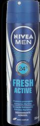 Desodorante Aerosol Nivea Fresh For Men 150mL