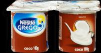 Iogurte Nestlé Grego Sabor Coco 400g