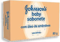 Sabonete Johnsons Baby Óleo Amêndoas 80g