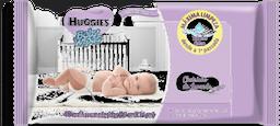 Lenços Umedecidos Huggies Baby Wipes Lavanda Com 48 Unidades