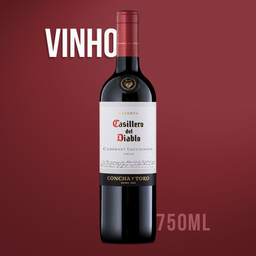 Vinho Chileno Tinto Concha Y Toro Cabernet Sauvignon 750 mL