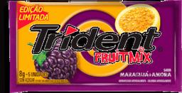 Chiclete Trident Mix  E Amora 1 U