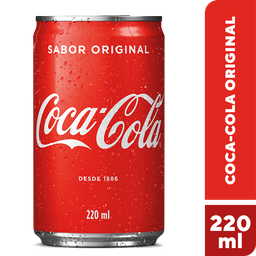 Refrigerante Coca-Cola Mini Lata 220ml