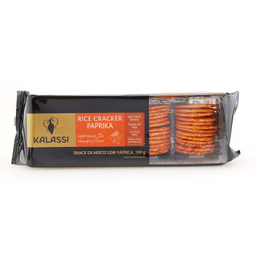 Snack Kalassi Rice Cracker Páprica 100 g