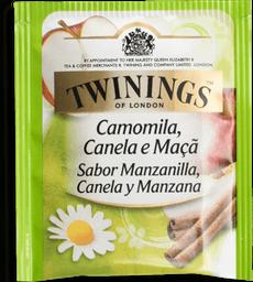Twinings Camomila com Canela e Maçã - 200ml