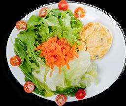 Combo Quiche e Salada