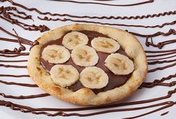 Esfiha de Banana com Nutella