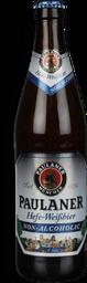 Cerveja Alemã Paulaner Hefe Weissbier sem Álcool Garrafa 500 ml