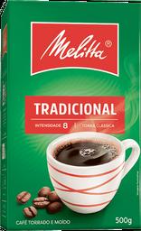 Café Melitta à Vácuo Tradicional 500 g