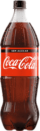 Refrigerante Coca-Cola Zero 1,5 L