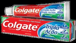 Creme Dental Colgate Tripla Ação Menta 90 g