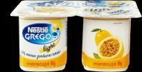 Iogurte Nestlé Grego Light Maracujá  4 Unidades 360g