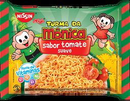 Macarrão Instantâneo Nissin Miojo Turma da Mônica Tomate 90 g