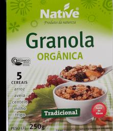 Granola Orgânica Native Tradicional 250g