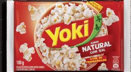 Pipoca Yoki Para Microondas Natural  Com Sal 100 g