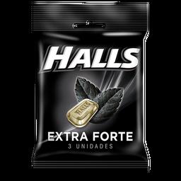 Bala HALLS Extra Forte (10 Unidades) 28g