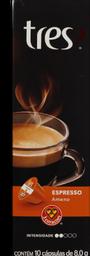 Cápsula Espresso Ameno Tres Coracoes Com 10