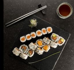 Salmon Maki Set - 18 Peças