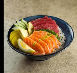 Chirashi Tuna e Salmon