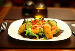 Salada Salmão Marinado