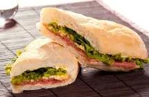 Sanduíche de Carpaccio