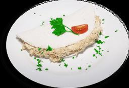 Tapioca de Frango com Cream Cheese