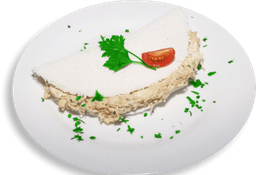 Tapioca Frango Com Cream Cheese