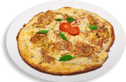 Omelete De Rúcula Com Queijo Branco