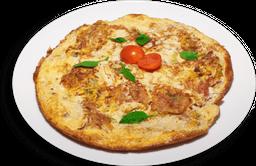 Omelete de Peito de Peru com Queijo Branco