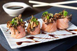 Sushi Jou de Shimeji Maçaricado