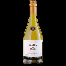 Vinho Chileno Tinto Casillero Del Diablo Chardonnay 750ml