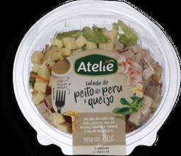 Atelie Salada Peito De Peru E Queijo Com Molho