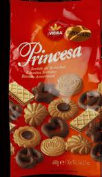 Biscoito Princesa Amanteigado Sortido Pacote 400 g