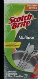 Esponja SCOTCH BRITE Multiuso com 3 Unidades