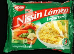 Macarrão Instantâneo Nissin Miojo de Legumes 85 g