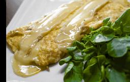 Omelete de Queijo Brie