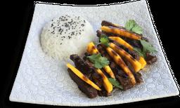 Thai Beef Mango