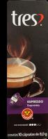 Cápsulas 3 Corações Espresso Supremo 10U