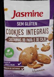 Cookie sem Glúten Castanha  do Para E Caju Jasmine 150g