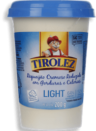Requeijão Tirolez Cremoso Light 200 g