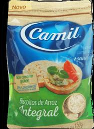 Biscoitos de Arroz Camil Mini Integral 150g